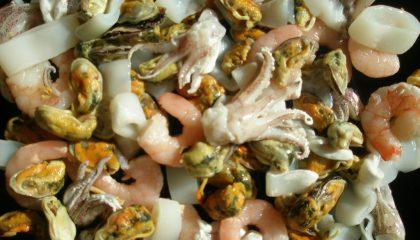 Meeresfrüchte-Mix